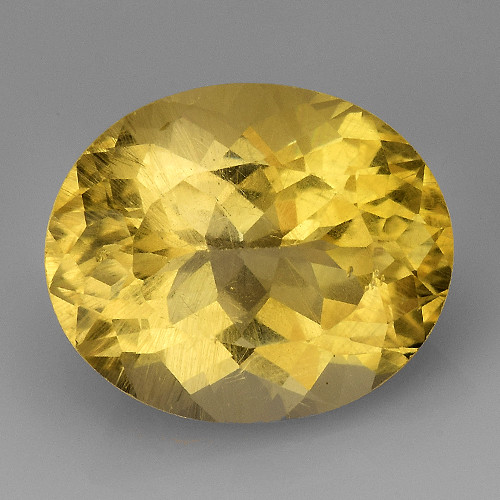4.55Ct Natural Heliodor AAA Grade Top Quality Gemstone. HD 08