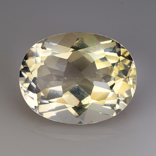 3.68Ct Natural Heliodor AAA Grade Top Quality Gemstone. HD 09