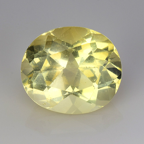 3.25Ct Natural Heliodor AAA Grade Top Quality Gemstone. HD 10