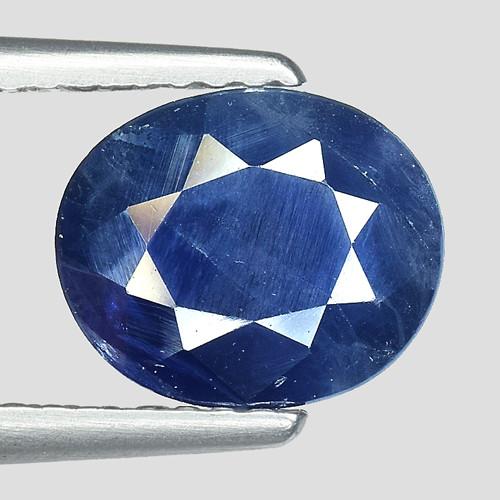 1.83Ct Natural Blue Sapphire Good Quality  Gemstone. BS 33