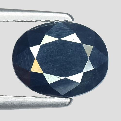 2.35Ct Natural Blue Sapphire Good Quality  Gemstone. BS 34