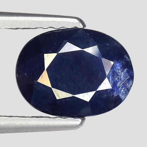 1.67Ct Natural Blue Sapphire Good Quality  Gemstone. BS 36