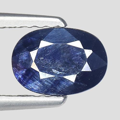 1.16Ct Natural Blue Sapphire Good Quality  Gemstone. BS 37