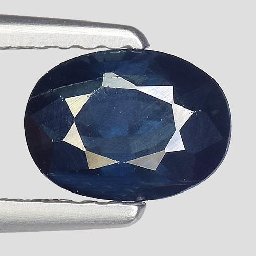 1.03Ct Natural Blue Sapphire Good Quality  Gemstone. BS 41