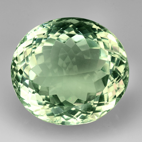 24.56Ct Natural Prasiolite Top Quality Gemstone. GA 11