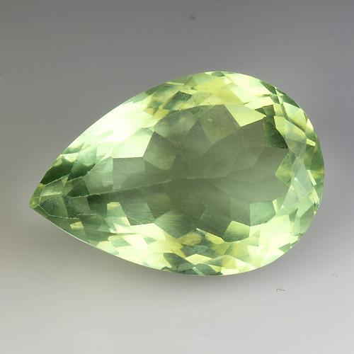 11.16Ct Natural Prasiolite Top Quality Gemstone. GA 13