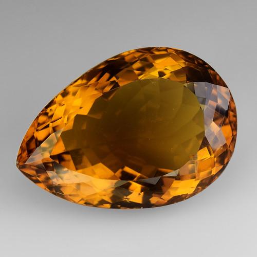 20.95Ct Natural Honey Quartz Top Class Top Cutting Gemstone. HQ17