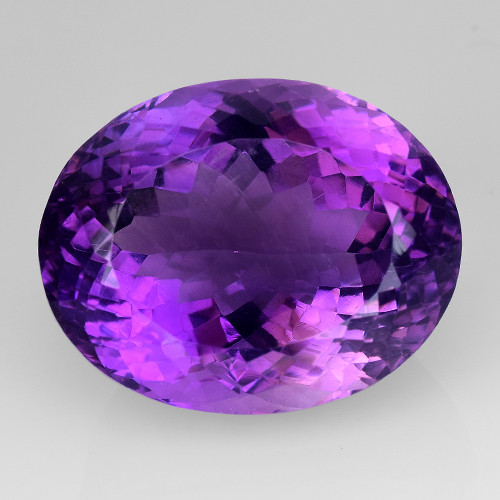 30.92Ct Amethyst Excellent Cut Top Quality Gemstone.AT21