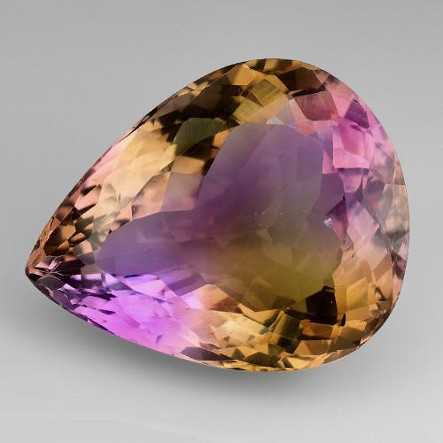 25.35Ct Natural Ametrine Bolivian Top Quality Gemstone. AM24
