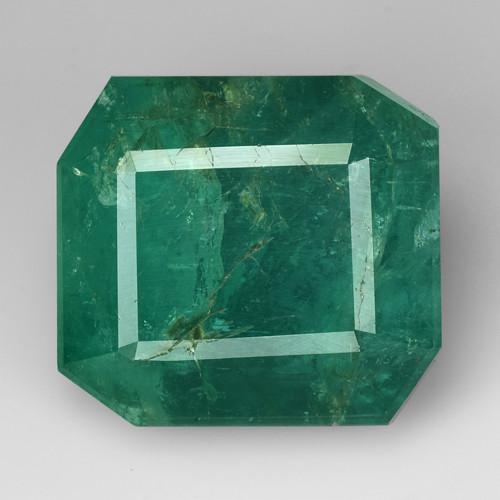 19.00Ct Natural Emerald Zambian Good Quality Gemstone. EM 01