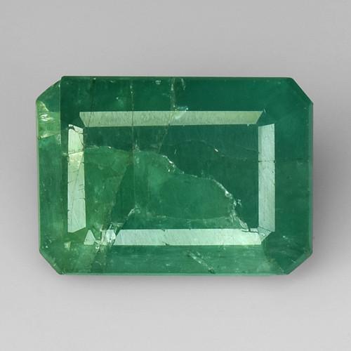 5.40Ct Natural Emerald Zambian Good Quality Gemstone. EM 02