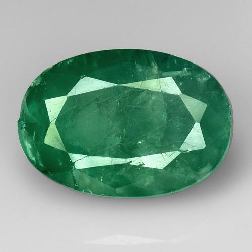 5.22Ct Natural Emerald Zambian Good Quality Gemstone. EM 03