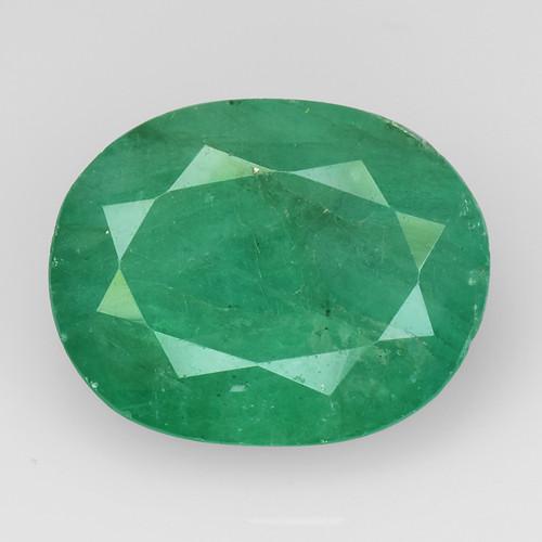 4.29Ct Natural Emerald Zambian Good Quality Gemstone. EM 04