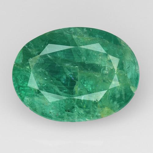 3.86Ct Natural Emerald Zambian Good Quality Gemstone. EM 05
