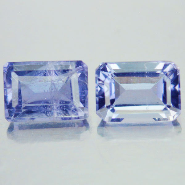 2.11 Cts Natural Blue Iolite Tanzania Octagon Gemstones