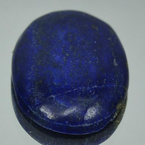 6.59 Cts NATURAL BLUE LAPIS LAZULI OVAL CABOCHON GEMSTONE