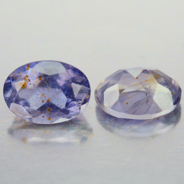 2.50 Cts Natural Blue Iolite Tanzania Oval Gemstones