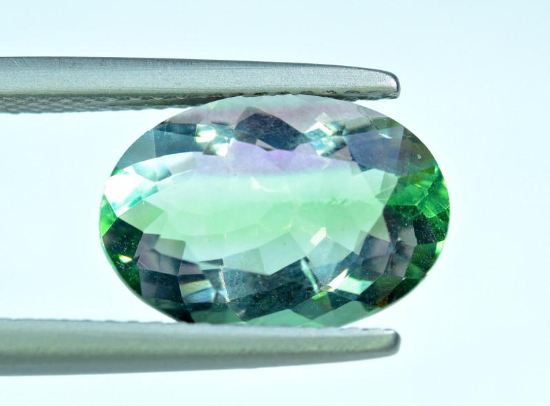 4.88 Carat Bi color Fluorite  Gemstone