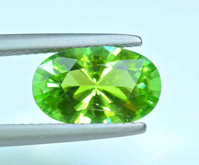 2.46 Carat Green Tourmaline Gemstone