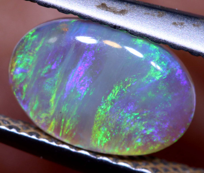 0.70 - cts Crystal Opal Stone L. Ridge  AO-531 australiaoutbackopal