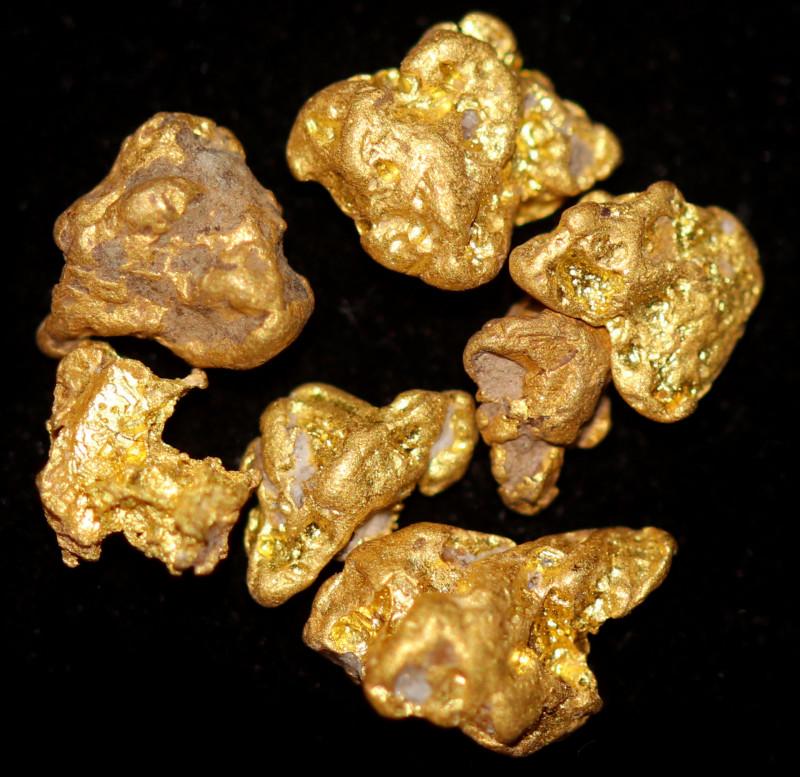 1.937 Grams - - Australian Clermont Gold Nugget Parcel CCC 1488