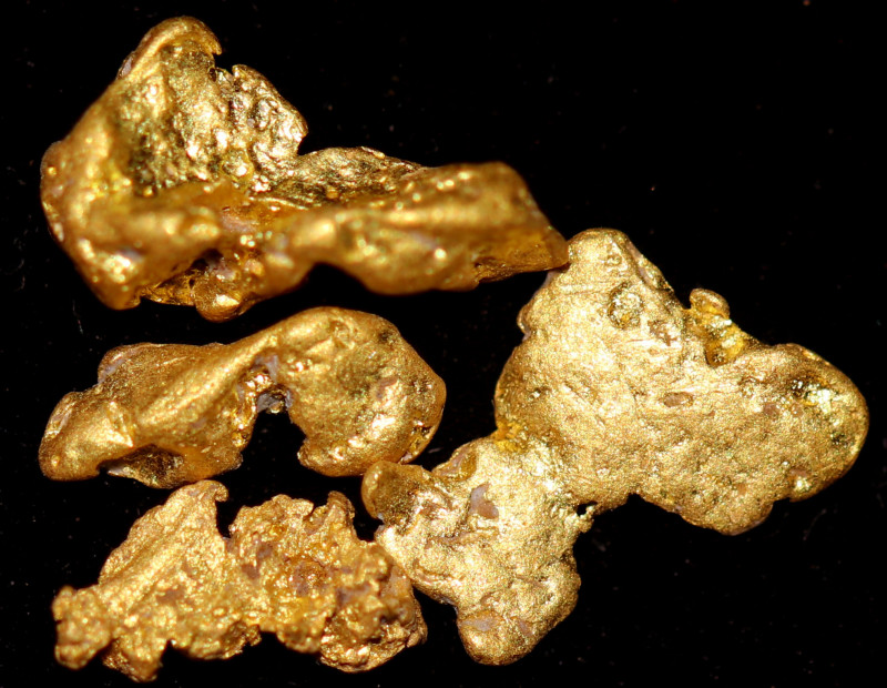 1.358 Grams - - Australian Clermont Gold Nugget Parcel CCC 1492