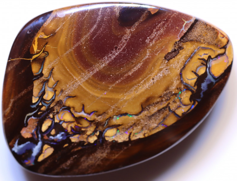 63.83 carats Yowah Opal Cut Stone AB-38