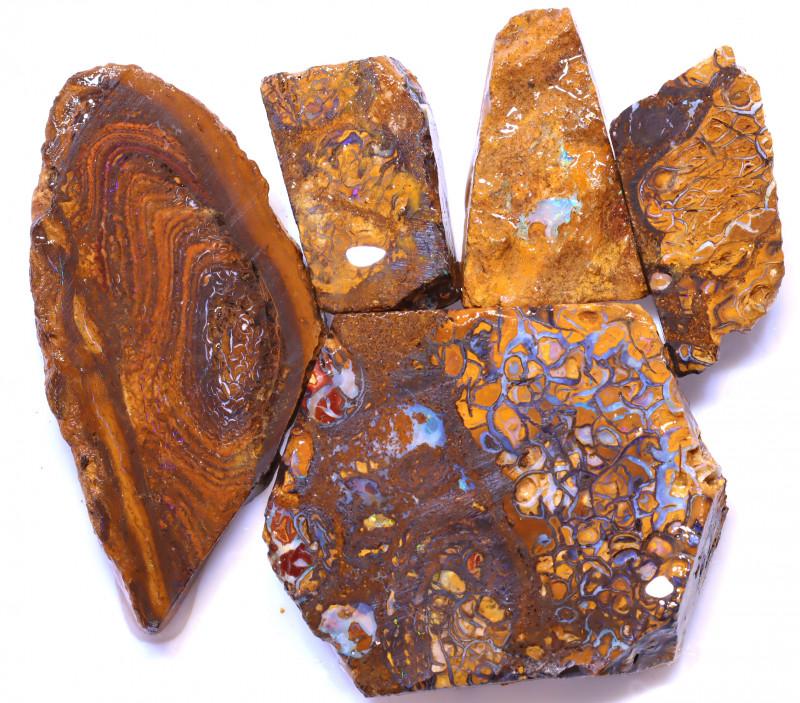 605 Carats Yowah Opal Rough Parcel AB-131