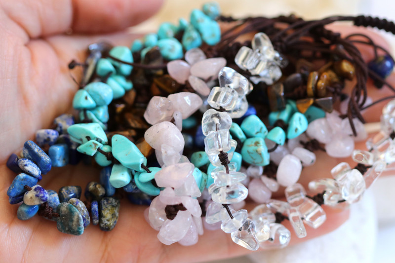 Popular Bracelets deal ,5 Gemstone Bracelets CH 1191