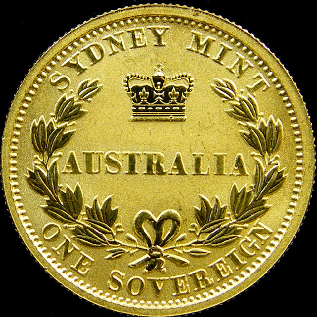 PROOF SYDNEY MINT FULL SOVEREIGN GOLD COIN  2005 CO 31