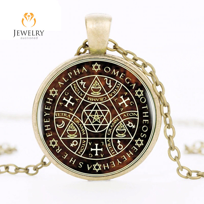 Sigil Magic WICCA Pendant OPJ 2621