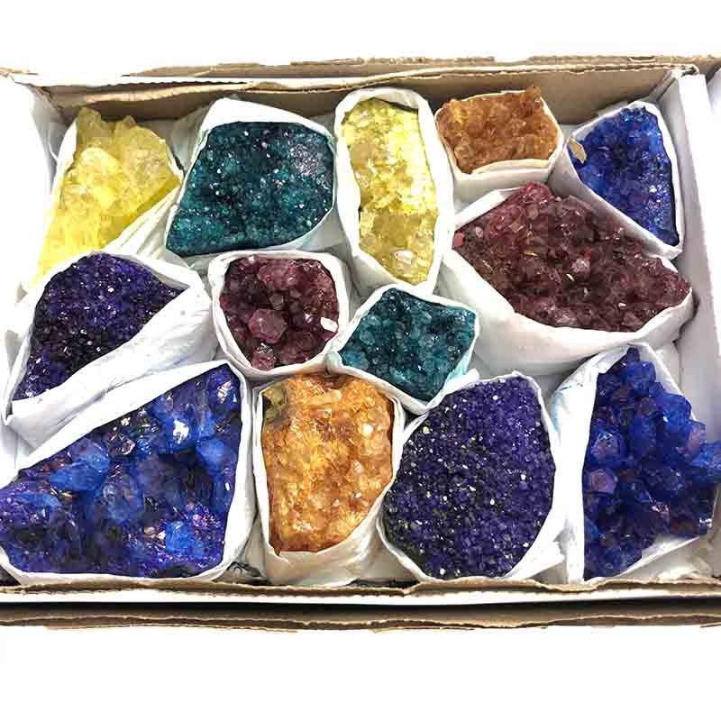 Mixed Crystal Cluster Tray
