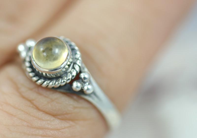 Natural Citrine   Ring size    L-   BU  2607