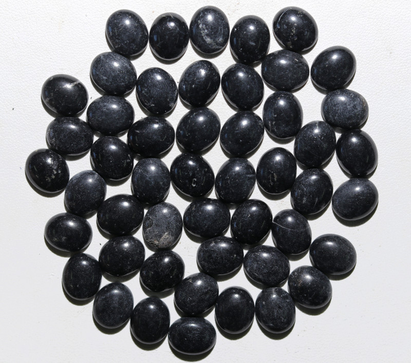 198 Cts parcel 50 BlackHematite Gemstonnes BU 2636