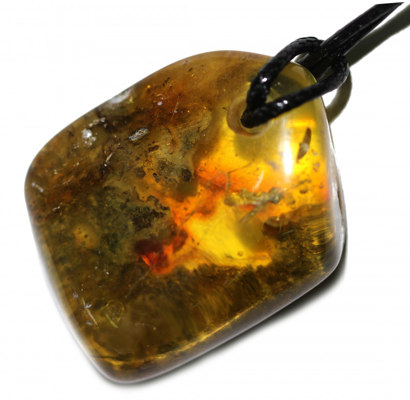 73 Cts Natural  Baltic Amber Necklace AM 1916