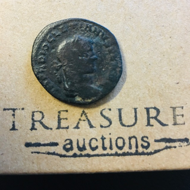 Ancient bronze antoniniani coin   Cp 361