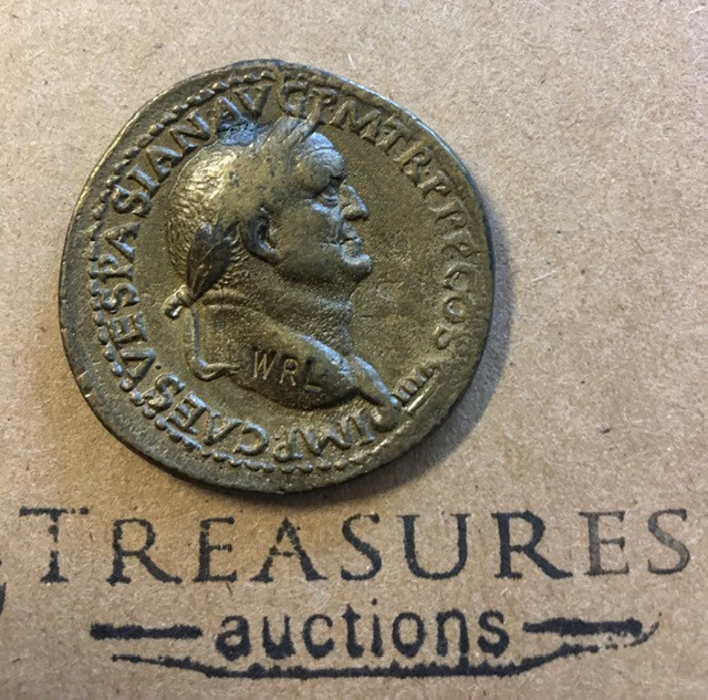 Replica  roman coin   Coin worn condition CP 363