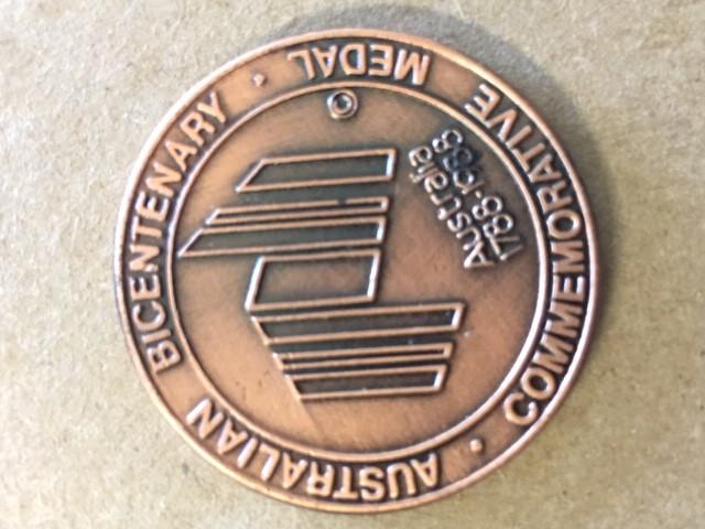 1988 medallion 200 years australia  CP 394