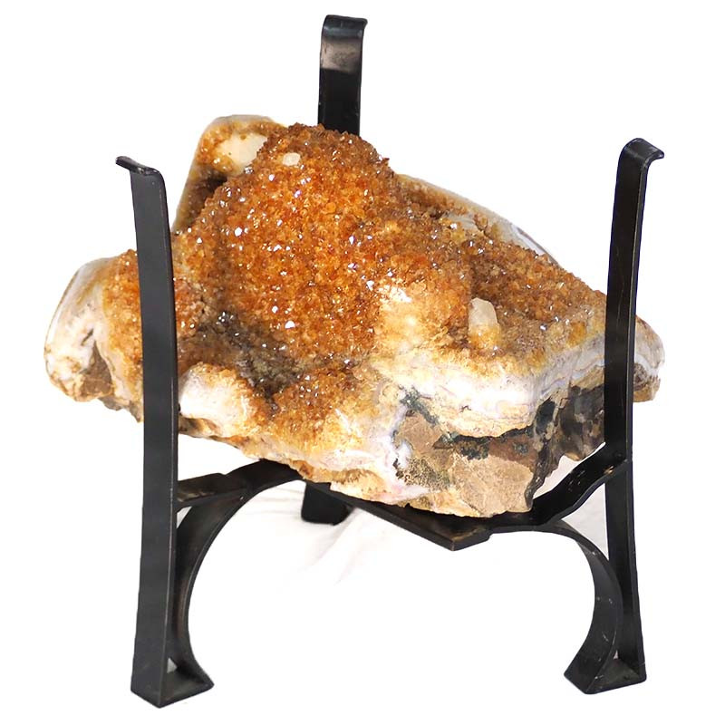 57.46kg Citrine Crystal Coffee Table DS146