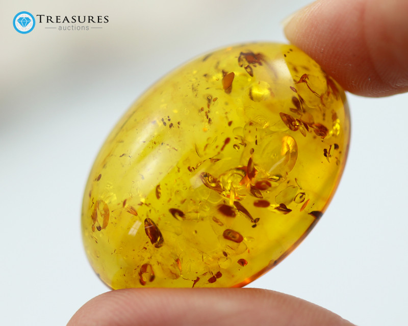 27Cts Gold Yellow Amber - AM 1997