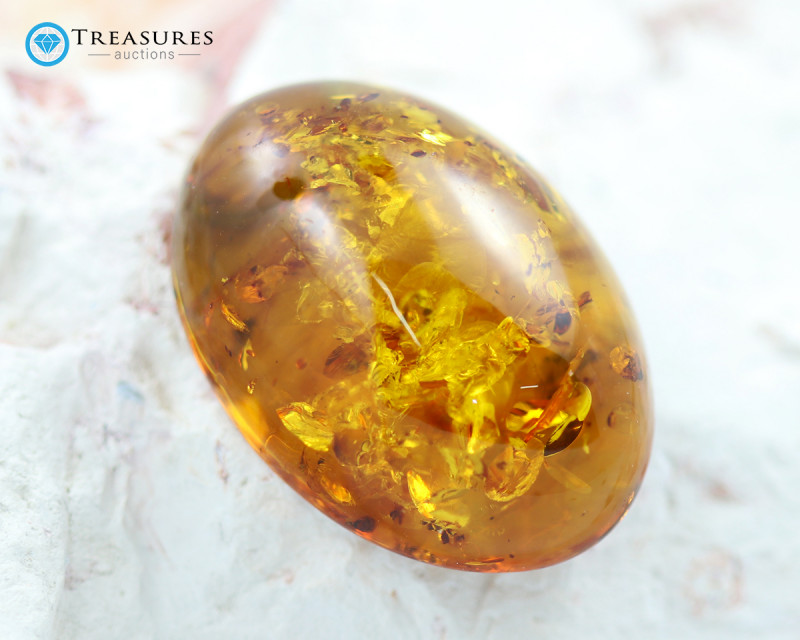 27Cts Gold Yellow Amber - AM 1999