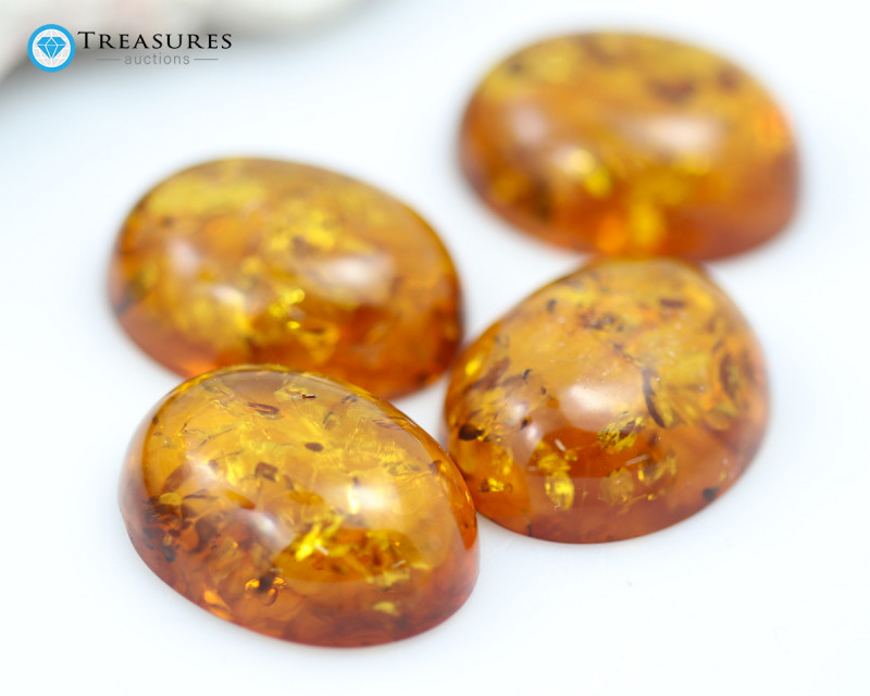 13Cts Gold Yellow Amber - AM 2000