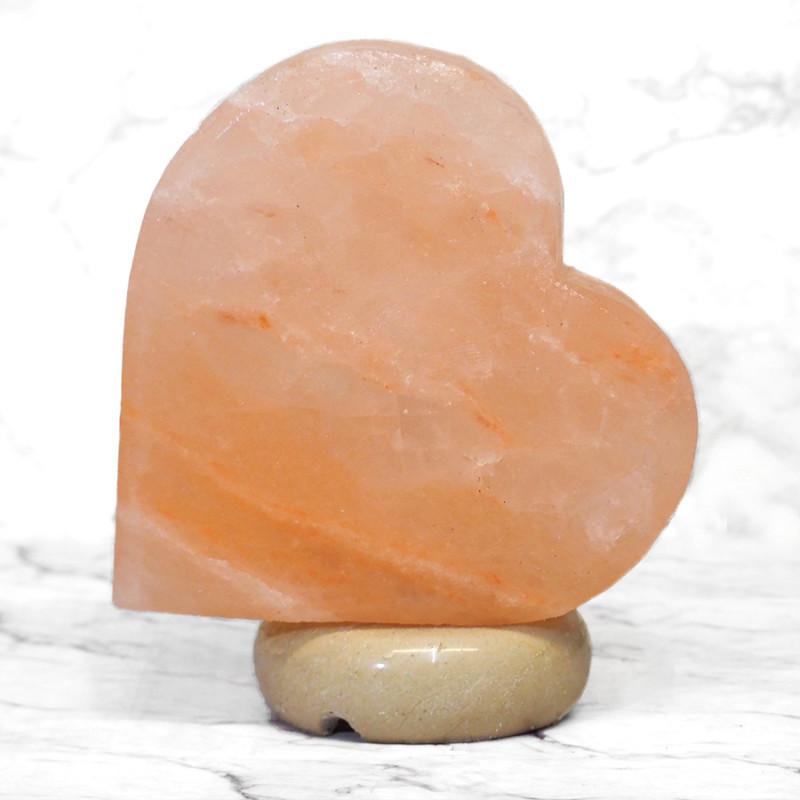 Pink Sideways Heart Salt Lamp (12V – 12W)