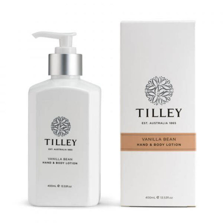 Tilley Body Lotion Vanilla Bean 400ml