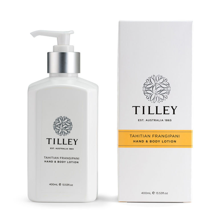 Tilley Body Lotion Tahitian Frangipani 400ml