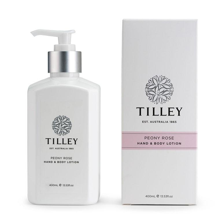 Tilley Body Lotion Peony Rose 400ml