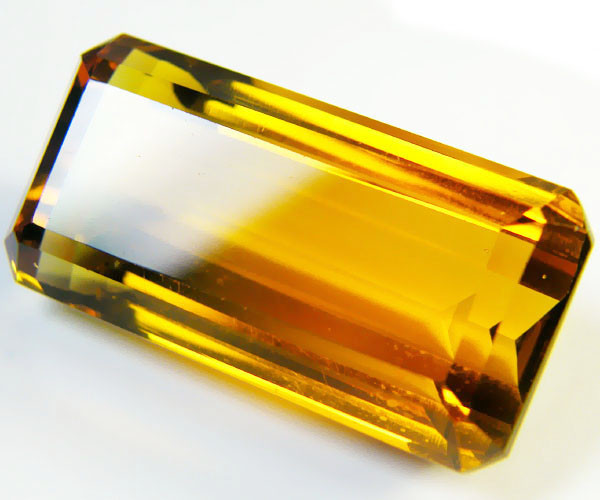 53.7 CTS BI COLOR GEMSTONE (SYNTHETIC CITRINE )  PG 9