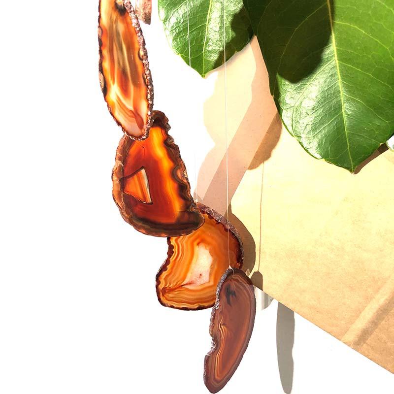 Wind Chime Brazil Agate Orange Slices – LG