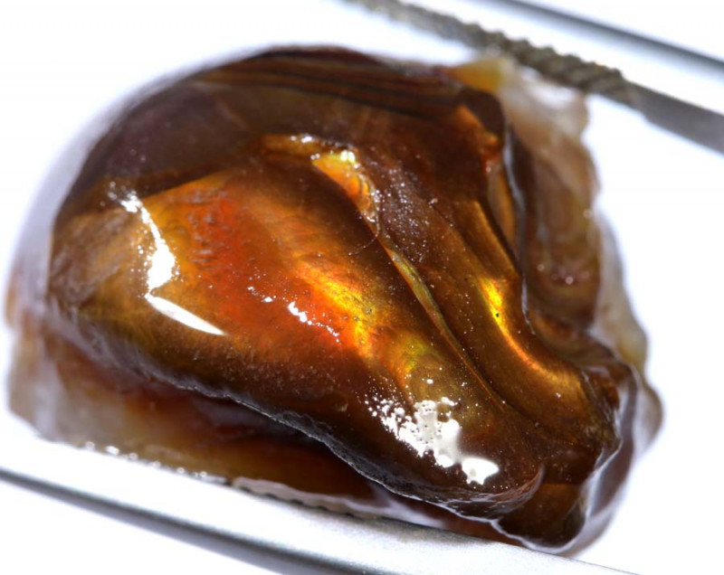 29 CTS FIRE AGATE ROUGH  RJA-229