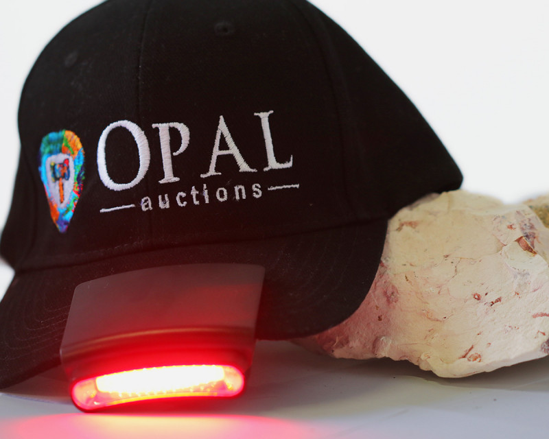Opal Auctions Hat with LED Light HI